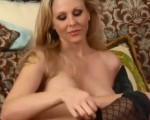MILF Julia Ann Strips and Masturbates